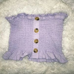 Purple tube top!